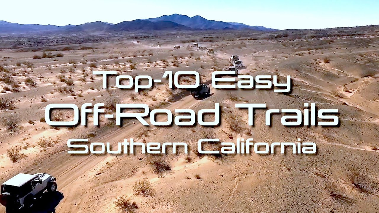 Areas You Can Atv In Southern California Map.Easy Off Road 4x4 Trails In Southern California