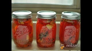 Заготовки на зиму  Малосольные помидоры быстрого приготовления на зиму