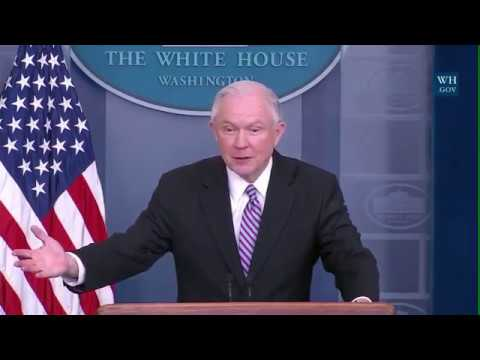 """Sessions: Fed To Cut """"Sanctuary Cities"""" Funding- Full Q & A"""