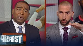 Nick Wright on Melo's willingness to play a bench role for the Rockets | NBA | FIRST THINGS FIRST