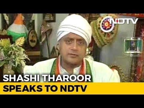 BJP May Do Better Than Left, Shashi Tharoor Tells NDTV On Kerala Fight