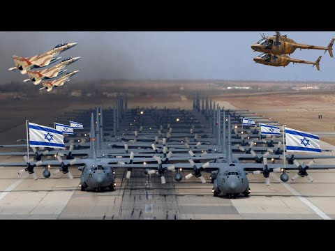 Israel Air Force Strength 2021  ( All Weapons )