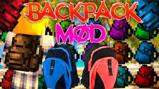 Minecraft | Mochilas MOD | Descargar e instalar BackPack MOD | 1.7.2/1.7.10/1.8.9/1.9.4/1.10.2
