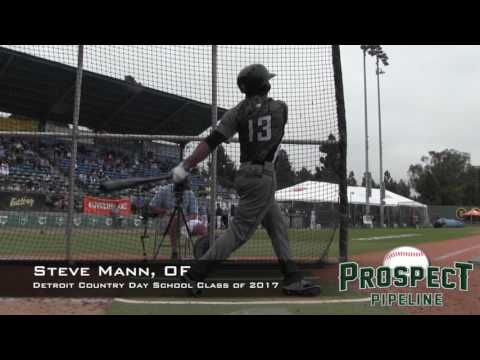 Steve Mann Prospect Video, OF, Detroit Country Day School Class of 2017
