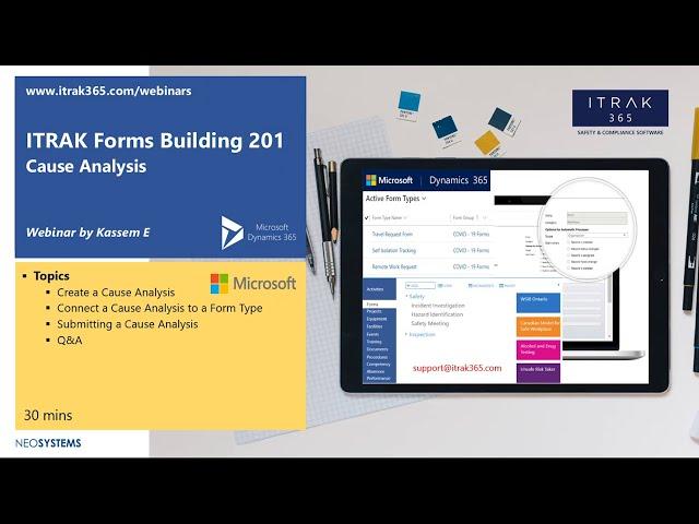 ITRAK Forms Building 201: Cause Analysis