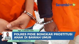 Polres Pidie Bongkar Prostitusi Anak di Bawah Umur, Mucikari dan Dua Pelanggan Ditangkap