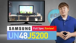 SAMSUNG UN48J5200 // Full Specs Review #UN48J5200