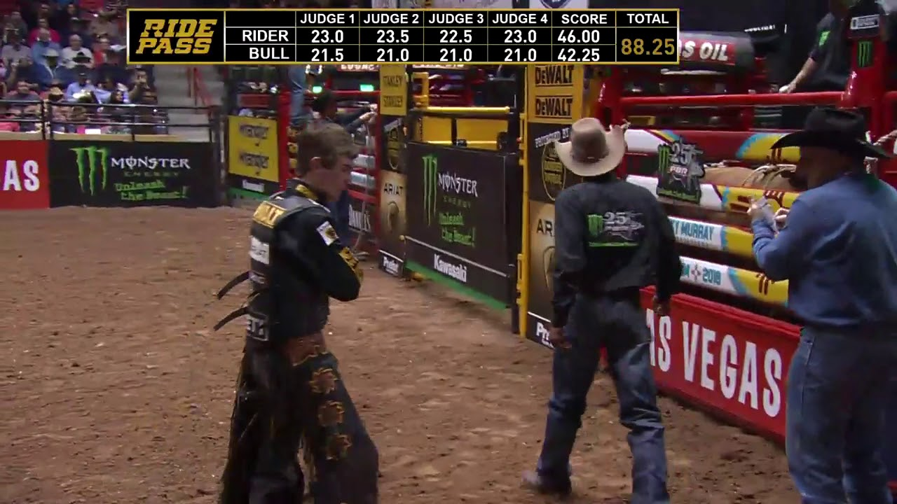 e7c2d040 Jess Lockwood rides Bar Thirty One for 88.25 points - YouTube
