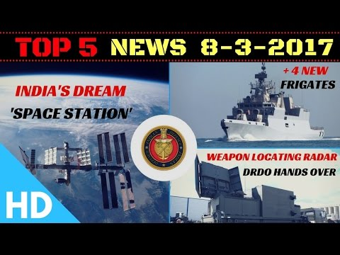 Top 5 Headlines : 08-03-2017 : Indian Defence Updates