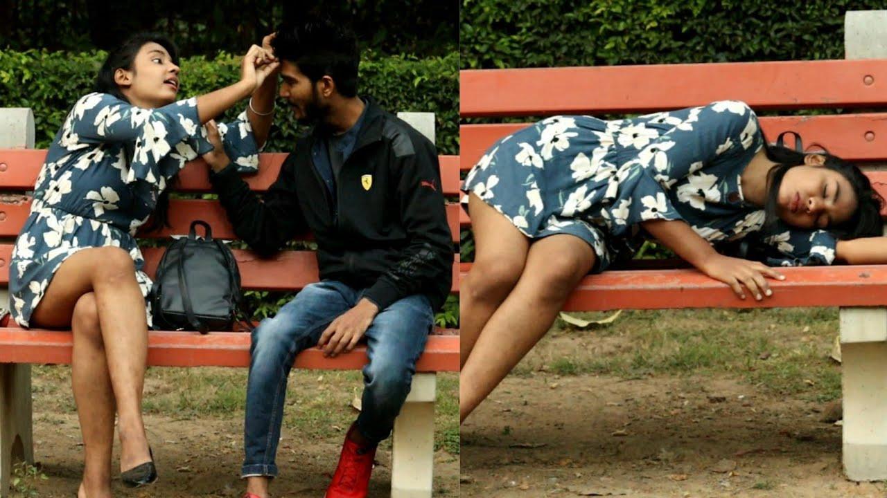 जब मिली पार्क मे शराबी लड़की तो कया हुआ   Prank gone wrong    girl drink in park    Ishaan Choudhary