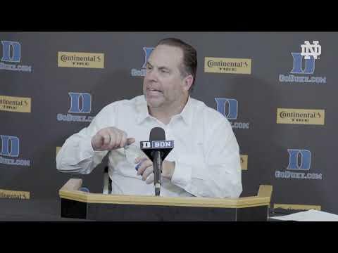 Post-Game Press Conference | @NDmbb vs. Duke (2018)