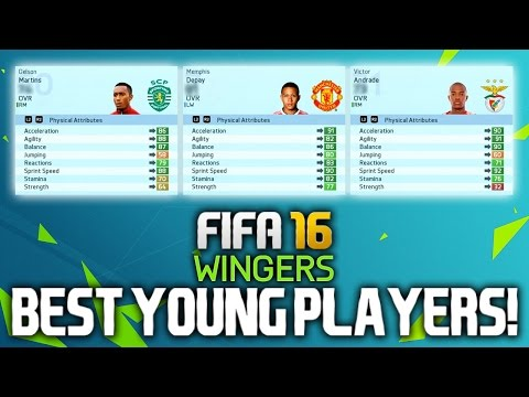 FIFA 16: BEST YOUNG PLAYERS ON CAREER MODE! (WINGERS)