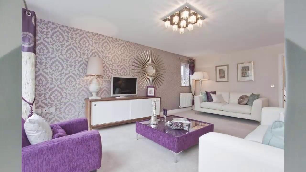 Wohnzimmer Tapeten Ideen  Haus Ideen