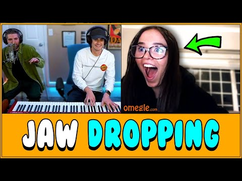 Pianist and Rapper AMAZE Strangers on Omegle