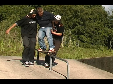 5 CRAP PARKS IN ONE DAY - CATES, NICOLSON, DIBBLE, 2008