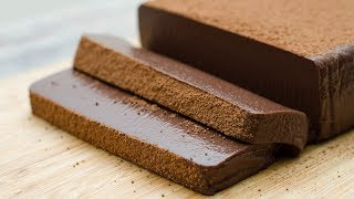 CHOCOLATE MOUSSE CAKE l EGGLESS & WITHOUT OVEN