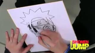 Cara Menggambar Naruto