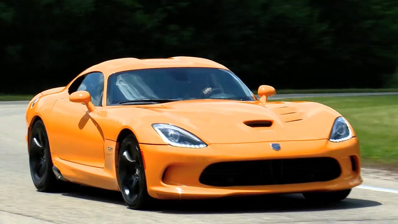 Dodge Viper SRT (2015) First Drive - YouTube