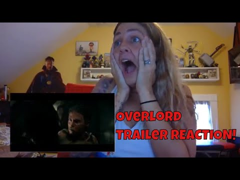 Overlord (2018) Official Trailer REACTION VIDEO! (J.J.  Abrams)
