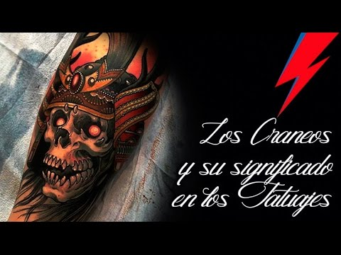The meaning of the Skulls in tattoos