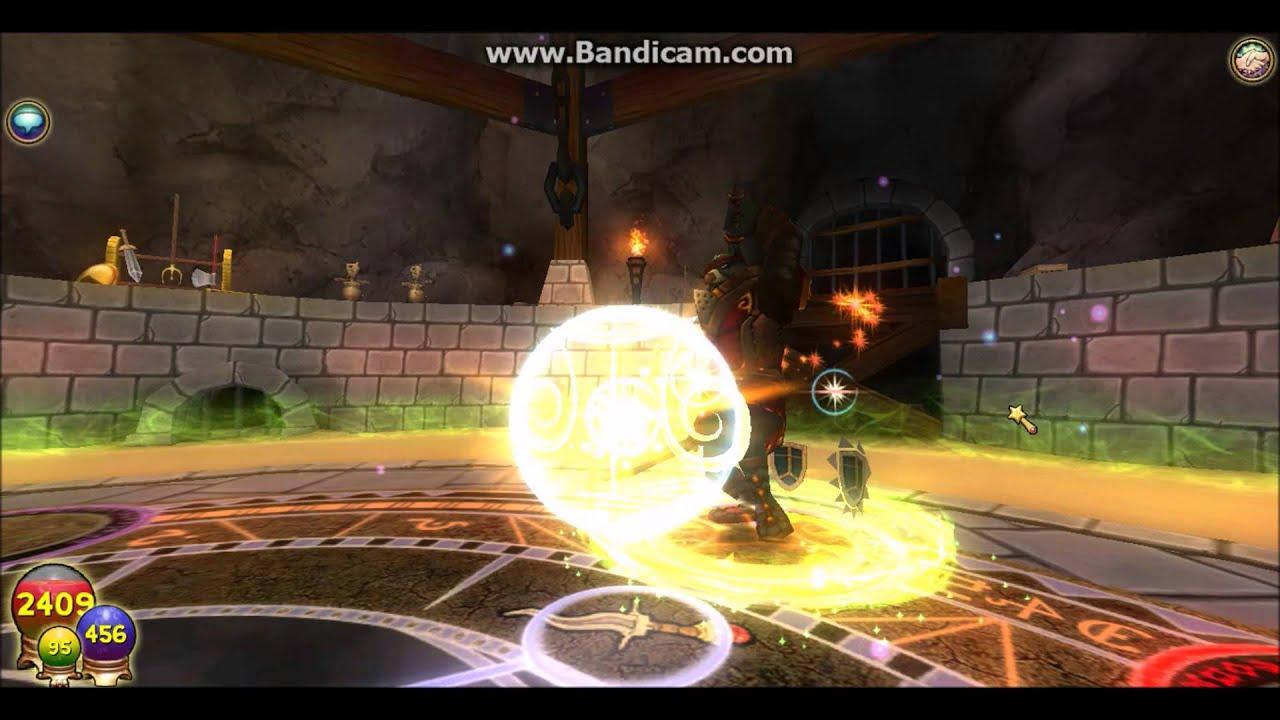 Wizard101 solo Gladiator Dimachaerus Storm