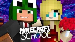 Minecraft School - BRINGING DATES TO PROM! w/Tiny Turtle