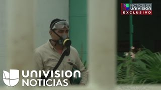 Exclusivas imágenes de la planta de Coatzacoalcos después de la explosión