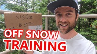 Off Season Snowboard Training + Unboxing