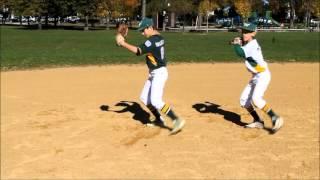 warriors infield drills youth baseball instruction