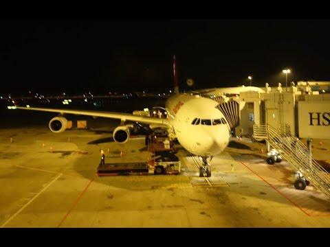 Swiss International A340-300 LX179 Singapore to Zurich
