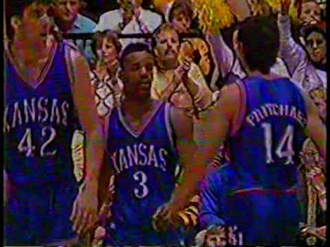 1990 - #4 Mizzou beats #1 kansas - Full Game
