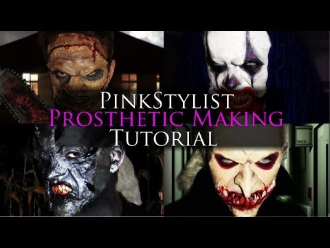 How to make Gelatin Prosthetics - A Special Effects Makeup G