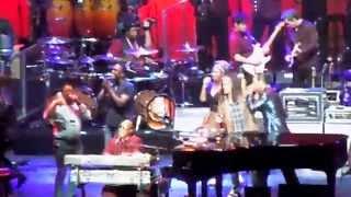 Superstition - Stevie Wonder with Steven Tyler, Nashville April 7 2015 (TheDailyVinyl video)