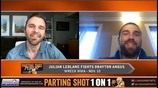 Julian LeBlanc talks Wreck MMA fight Nov. 10 and training with Elias Theodorou