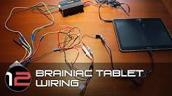 Brainiac Tablet Wiring