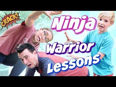 Ninja Warrior Lessons w/ Rachel Ballinger!