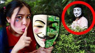 เจอหลักฐานคนใส่หน้ากากผู้หญิง จ้าว ปลอมตัวเป็นคนใส่หน้ากาก แกล้ง ตองติง ❤ JKiz