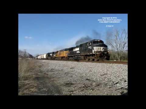 7466)-NS-GS&F-Sub-Railfanning – Valdosta, Georgia – Saturday-February-20th, 2016.wmv