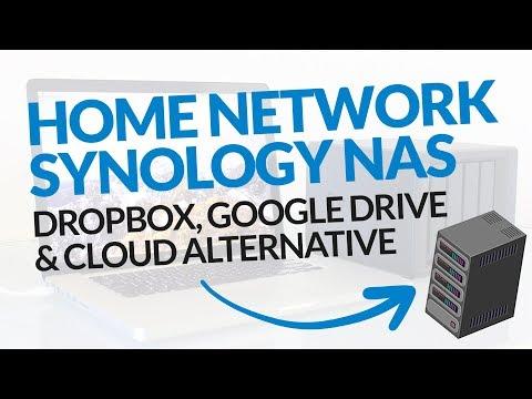 Dropbox, Google Drive, or Cloud Storage Alternative? Home Network Synology Nas! #BSI 36