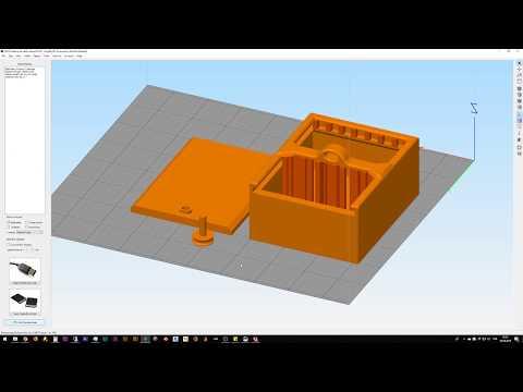 REEF-3D printed active carbon box (PETG)