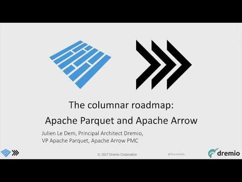 The columnar roadmap  Apache Parquet and Apache Arrow