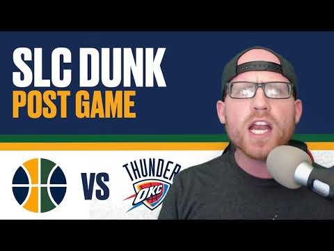 Utah Jazz vs Oklahoma City Thunder NBA Playoffs Game 2 Post Game Reaction - Donovan Mitchell!!!