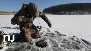 Ice fishing: Rare treat for New Jersey anglers
