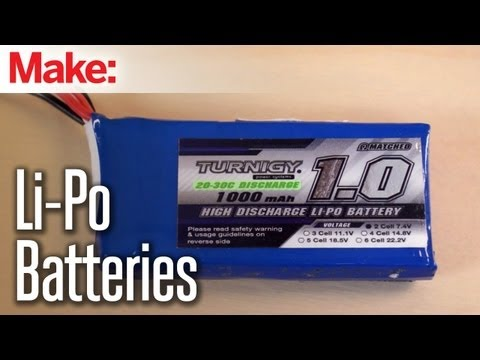 Maker Hangar: Episode 4 - Li-Po Batteries