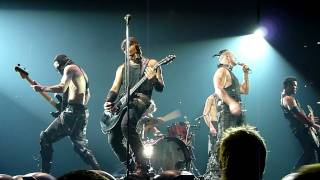 Rammstein Mann gegen Mann live O2 World Berlin 26.11.11