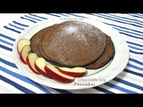 Chocolate Soy Pancakes | Dietplan-101.com