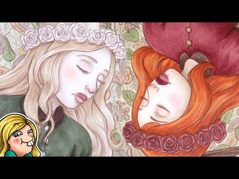 Snow White & Rose Red - Copic Illustration [YTAC #10]