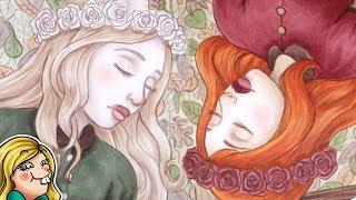 Snow White & Rose Red - Copic Illustration [YTAC #10]