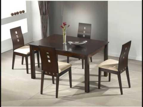 Mesas y sillas comedor a tu alcance muebles salvany youtube - Mesa comedor y sillas ...