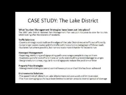Geography GCSE Tourism Revision Video